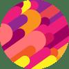Kram värikas pallo